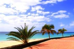 Plage des Îles Canaries Image stock