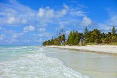 Plage des Bahamas Photographie stock libre de droits