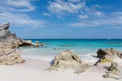Plage des Bermudes Photo libre de droits