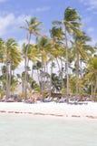 Plage des Caraïbes Image libre de droits