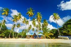 Plage des Caraïbes Shack Photos stock
