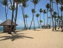 plage des Caraïbes tropicale Image libre de droits