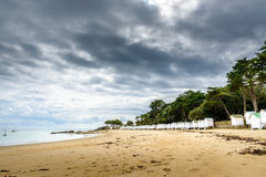 Plage des Dames, Noirmoutier Island Stock Photo