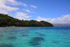 Plage des Fidji Photographie stock