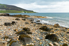 Plage des Rois Cross sur l'île d'Arran photos stock