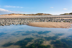 Plage Devon de Northam Photo libre de droits