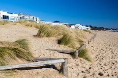 Plage Dorset de bancs de sable Photos libres de droits