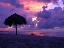 Plage du Cuba photographie stock libre de droits
