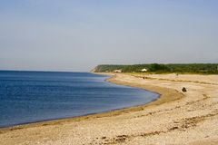 Plage du Long Island Photo libre de droits