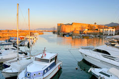 Plage du nord de la Chypre image libre de droits