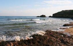 Plage du nord de la Chypre photos libres de droits