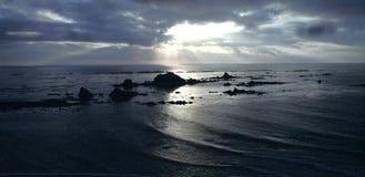 Plage du nord-ouest Pacifique, Etats-Unis Image libre de droits