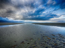 Plage du Nouvelle-Zélande Photographie stock