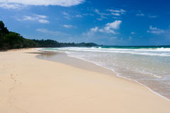 Plage du Panama Image libre de droits