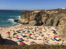 Plage du Portugal Photos libres de droits