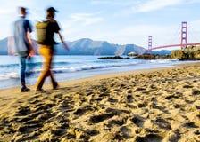 Plage du ` s de Baker - San Francisco Photographie stock libre de droits