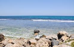 Plage du sud de Cottesloe : Les eaux de turquoise Photos libres de droits