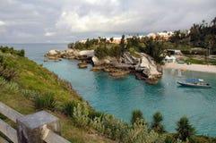 Plage du sud de Hampton, Bermudes Photographie stock libre de droits