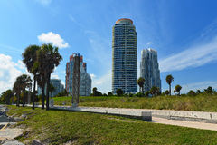 Plage du sud Miami photo stock