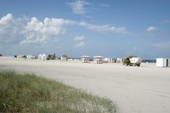 Plage du sud, Miami, Etats-Unis image libre de droits