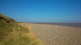 Plage du Suffolk Images libres de droits