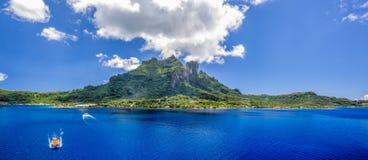 Plage du Tahiti image libre de droits