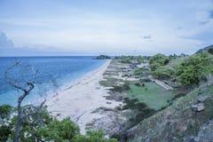 Plage du Timor oriental Photographie stock