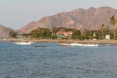 Plage du Timor oriental Images libres de droits