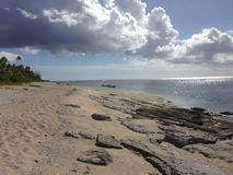 Plage du Tonga Images libres de droits