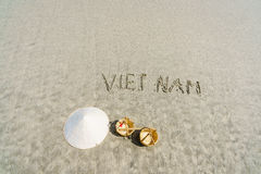 Plage du Vietnam Photos stock