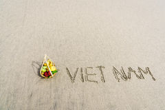 Plage du Vietnam Photo stock