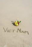 Plage du Vietnam Photos stock