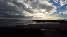 Plage en île de Skye image stock