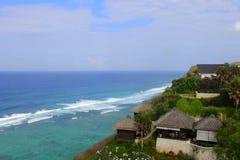 Plage en île Indonésie Images libres de droits