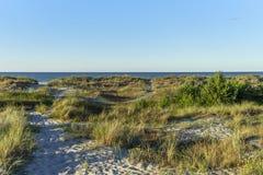 Plage en Allemagne à la mer baltique Photo stock