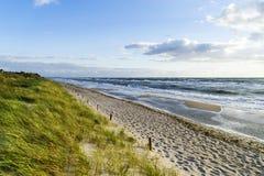 Plage en Allemagne à la mer baltique Photographie stock libre de droits