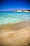 Plage en Chypre Photo stock