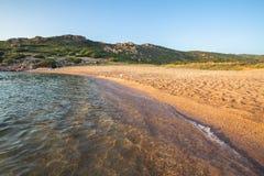 Plage en Costa Paradiso, Sardaigne, Italie Photos libres de droits