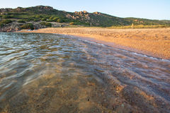 Plage en Costa Paradiso, Sardaigne, Italie Image stock