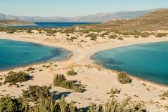 Plage en Grèce Photo stock
