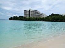 Plage en Guam Photo libre de droits