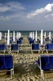 Plage en Italie Photos libres de droits
