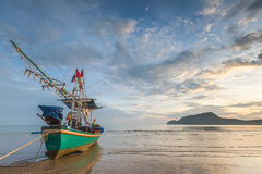 Plage en Thaïlande Image stock