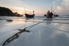 Plage en Thaïlande Images libres de droits