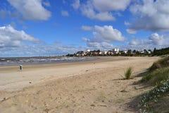 Plage est de ville de Montevideo Photographie stock