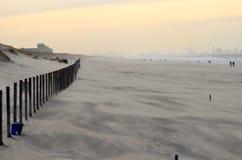 Plage et dunes Image libre de droits