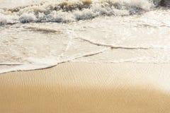Plage et Inde tropicale de mer Photos stock