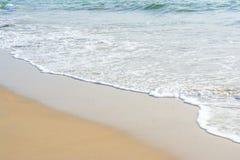 Plage et Inde tropicale de mer Photo stock