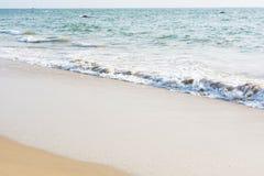 Plage et Inde tropicale de mer Image libre de droits