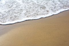 Plage et Inde tropicale de mer Photographie stock